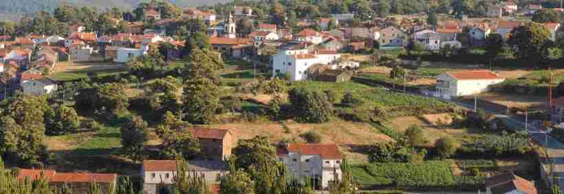 Horticultura perto da aldeia de Videmonte
